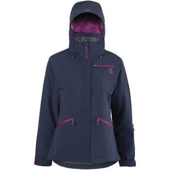 Vêtements Femme Coupes vent Scott W'S ULTIMATE DRYO PLUS BLACK IRIS VESTE SKI FEMME BLACK IRIS
