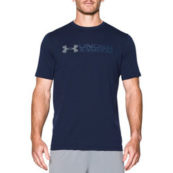 Vêtements Homme T-shirts manches courtes Under Armour Raid microthread graphic shortsleeve Midnight navy / Steel