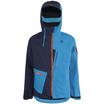 Vêtements Homme Coupes vent Scott VERTIC 3L JACKET BLACK IRIS VIBRANT BLUE VESTE SKI HOMME BLACK IRIS VIBRANT BLUE