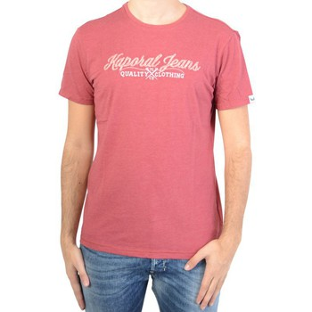 T-shirts manches courtes Kaporal Tee Shirt Kaporal Homme Burby Rosewood
