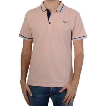 Vêtements Homme Polos manches courtes Kaporal Polo  Homme Basoch Dust Pink Rose