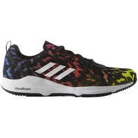 Chaussures Femme Fitness / Training adidas Originals Arianna Cloudfoam Blanc-Jaune-Noir