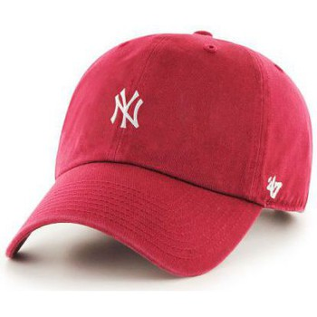 Casquettes 47 Brand Casquette  New York Yankees Centerfield 47 Clean Up Rouge