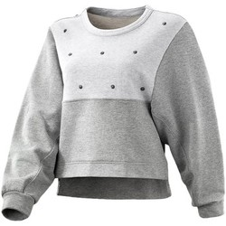 Vêtements Femme Pulls adidas Originals ES Stud Sweater Gris