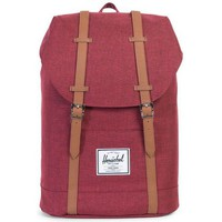 Sacs Homme Sacs à dos Herschel Sac à dos  Retreat 19.5 L Bordeaux Chiné 10066-01158 Rouge
