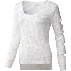 Vêtements Femme Pulls adidas Originals Knit Sweater Blanc