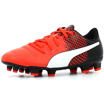 Chaussures Enfant Football Puma Evopower 4.3 Tricks FG Jr Rouge