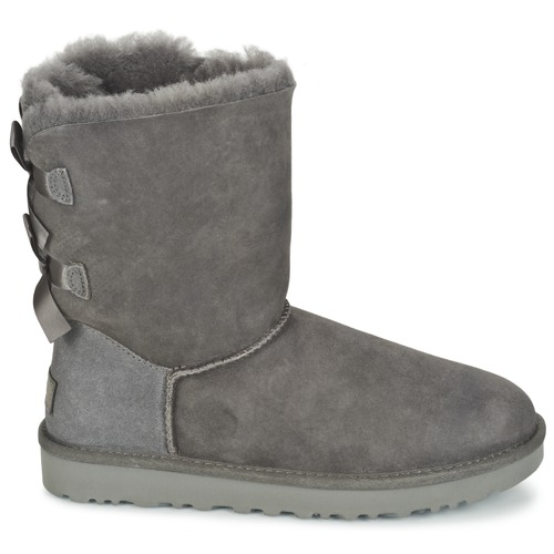 Ugg Ii Gris Chaussures Boots Bailey Femme Bow 4A3j5RL