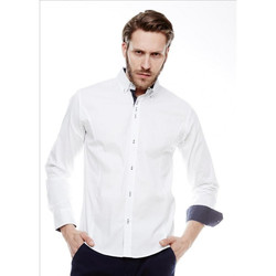 Chemises manches longues Beststyle Chemise homme tendance blanche