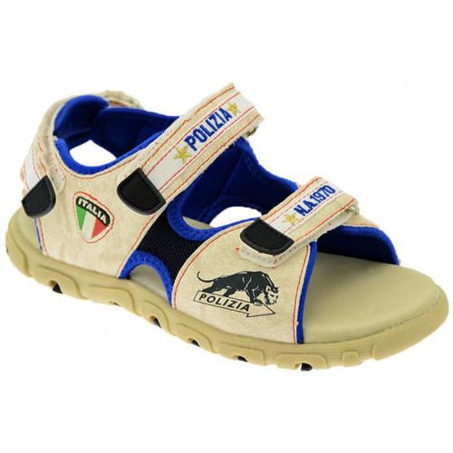 Chaussures Garçon Sandales et Nu-pieds Polizia Pelle Sandales