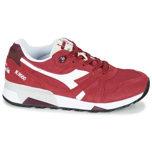 Iii Baskets Diadora N9000 Chaussures Rouge Basses OpSpqg
