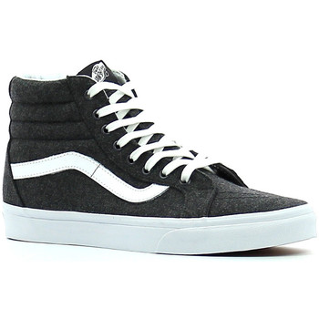 Chaussures Baskets montantes Vans SK8-Hi Reissue Charcoal/True white