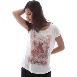 T-shirts manches courtes Key Up S07G T-shirt Femmes