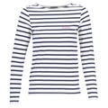 Vêtements Femme T-shirts manches longues Betty London FLIGEME Blanc / Bleu