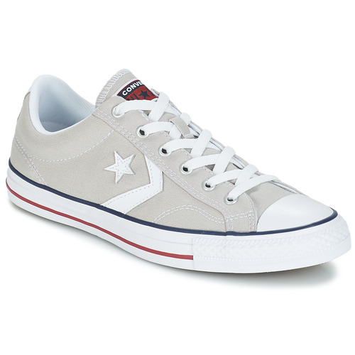 Chaussures Baskets basses Converse STAR PLAYER  OX Gris Clair / Blanc
