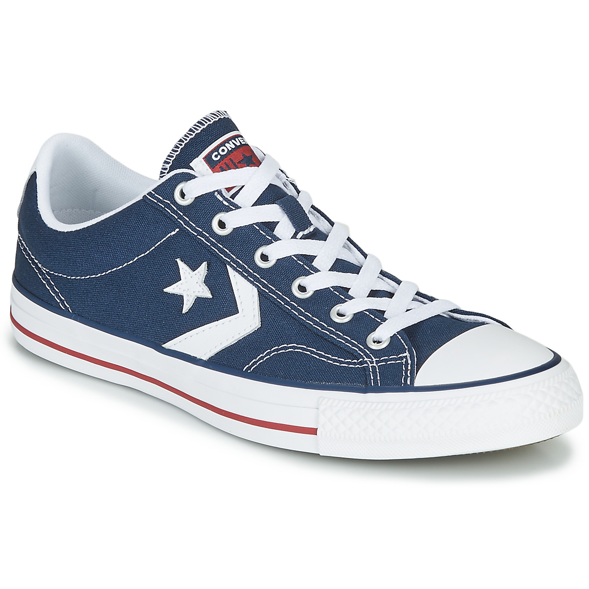 best loved 624bf 669a2 Chaussures Baskets basses Converse STAR PLAYER OX Marine   Blanc