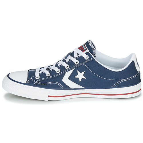Star Basses Baskets Player MarineBlanc Converse Ox BWrCedox