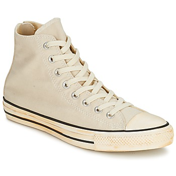 Chaussures Baskets montantes Converse Chuck Taylor All Star VINTAGE WASHED BACK ZIP TWILL HI Ecru