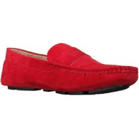 Chaussures Homme Mocassins Reservoir Shoes Raul Red Rouge