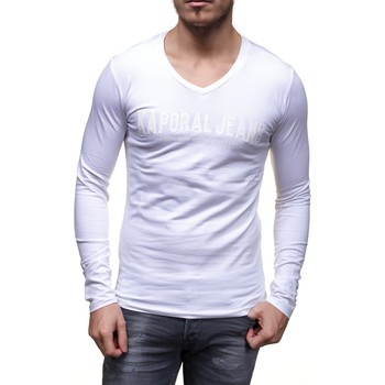 T-shirts manches longues Kaporal Moby Blanc