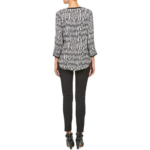 BTU010  Stella Forest  tops / blouses  femme  ecru / noir