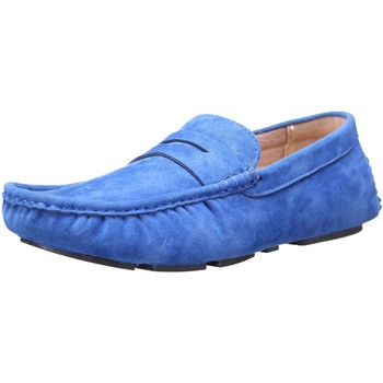 Chaussures Homme Mocassins Reservoir Shoes Raul Royal Bleu Bleu