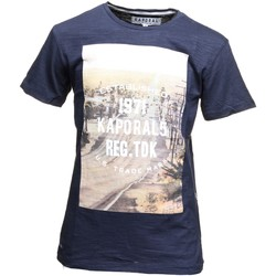 T-shirts manches courtes Kaporal Derli Blue Night