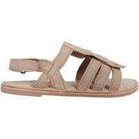 Chaussures Fille Sandales et Nu-pieds Cheiw 47115 Beige