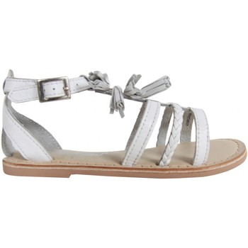 Chaussures Fille Sandales et Nu-pieds Cheiw 47116 Blanco