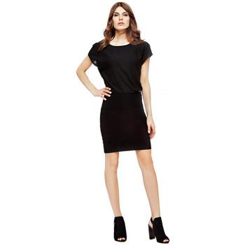 Vêtements Femme Robes courtes Guess Robe  Sibilla Noir Noir