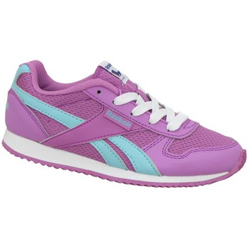 Chaussures Fille Baskets basses Reebok Sport Royal CL Jogger blanc