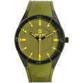 Serge Blanco Montre  All Colors SB1095-8 - Montre Silicone Verte Homme