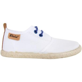 Chaussures Enfant Derbies & Richelieu Cheiw 47108 Blanco