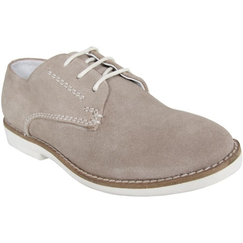 Chaussures Garçon Ville basse Cheiw 45611 Gris