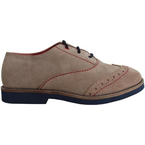 Chaussures Garçon Ville basse Cheiw 47041 Gris