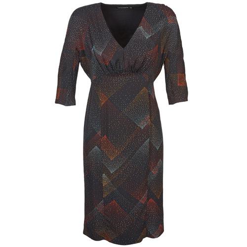 Vêtements Femme Robes courtes Antik Batik ORION Noir