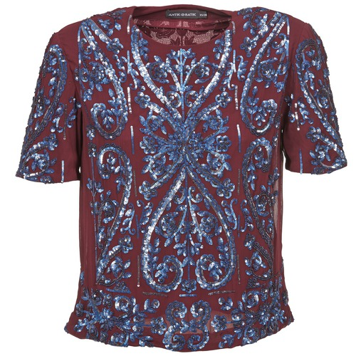 Antik TopsBlouses Femme Batik Niaouli Bordeaux vmwn0ON8