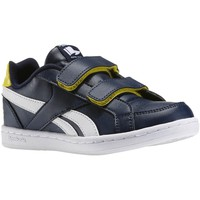 Chaussures Homme Baskets basses Reebok Sport Royal Prime Navyyellow Sparkw Jaune-Bleu marine-Blanc