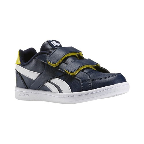 Chaussures Homme Baskets basses Reebok Sport Royal Prime Navyyellow Sparkw Bleu marine