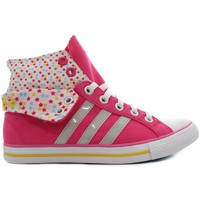 Chaussures Fille Baskets montantes adidas Originals Bbneo 3 Stripes Rose