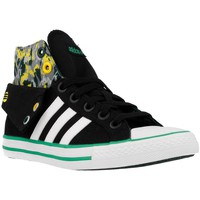 Chaussures Homme Baskets montantes adidas Originals Bbneo 3 Stripes CV Mid K Noir