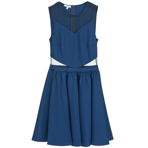 brigitte bardot bb45080 bleu livraison gratuite avec v tements robes courtes. Black Bedroom Furniture Sets. Home Design Ideas