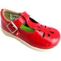 Chaussures Fille Ballerines / babies Chipmunks Trixie rouge