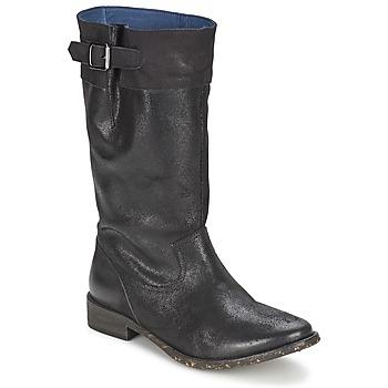 Botte ville Schmoove SANDINISTA BOOTS Noir metal 350x350