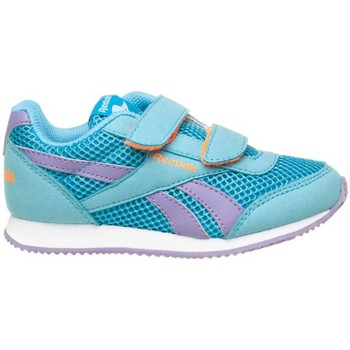 Chaussures Fille Baskets basses Reebok Sport Royal CL Jogger Blanc-Bleu-Violet