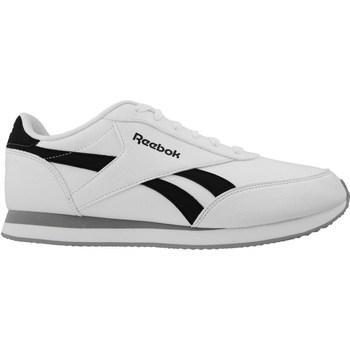 Chaussures Homme Baskets basses Reebok Sport Royal CL Jog 2L Blanc-Noir-Gris