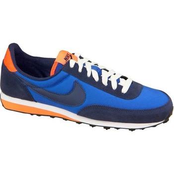 Chaussures Garçon Baskets basses Nike Elite GS Bleu marine