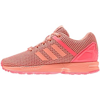 Chaussures Enfant Baskets basses adidas Originals ZX Flux Split K Orange