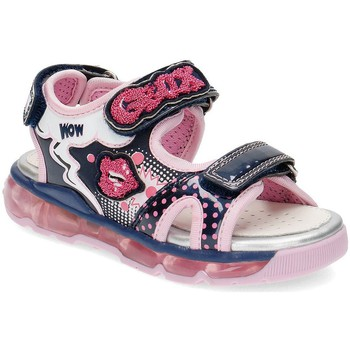 Chaussures Fille Sandales et Nu-pieds Geox Junior Android Rose