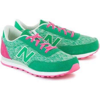 Chaussures Fille Baskets basses New Balance Classics Traditionnels 501 Vert